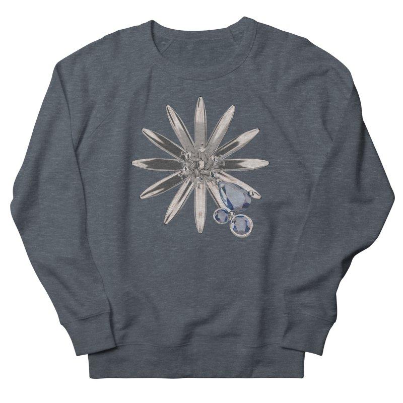 Enchanted Flower II Women's French Terry Sweatshirt by Genius Design Lab's Artist Shop