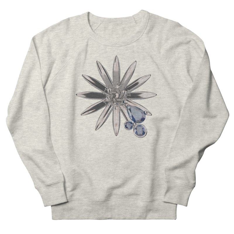 Enchanted Flower II Women's Sweatshirt by Genius Design Lab's Artist Shop