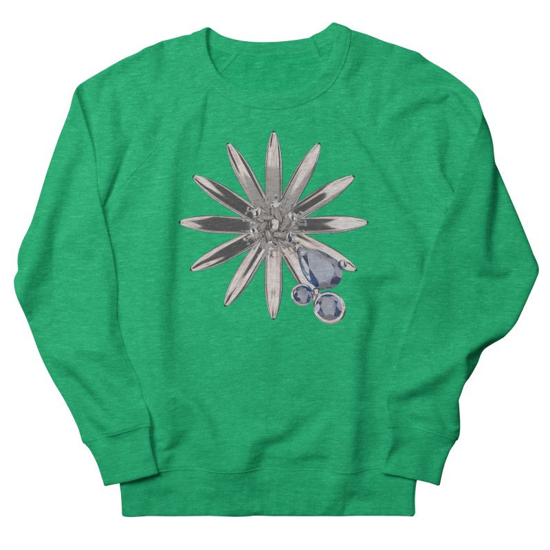 Enchanted Flower II Men's Sweatshirt by Genius Design Lab's Artist Shop