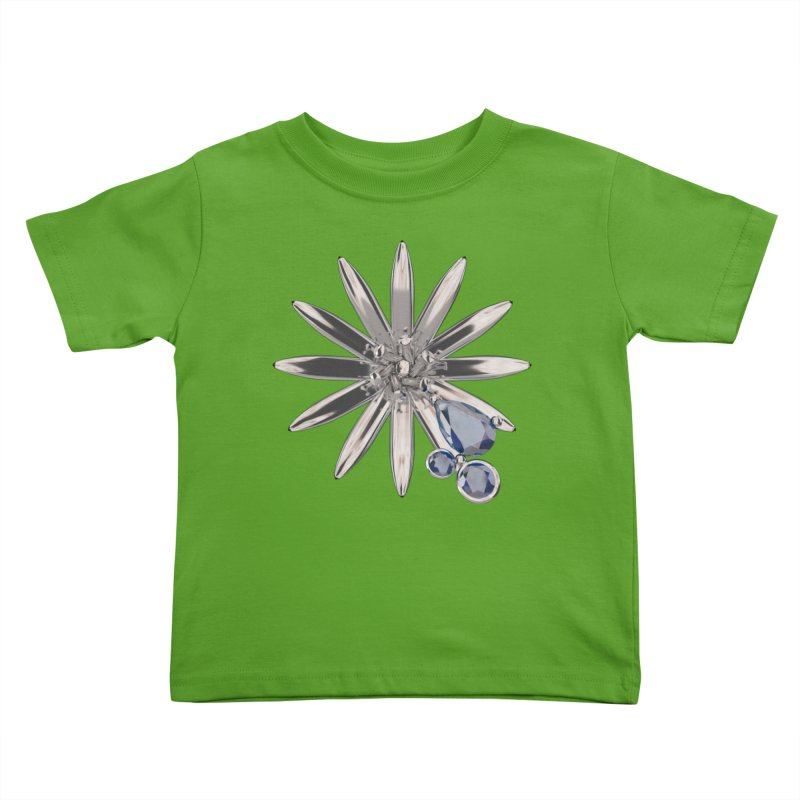 Enchanted Flower II Kids Toddler T-Shirt by Genius Design Lab's Artist Shop