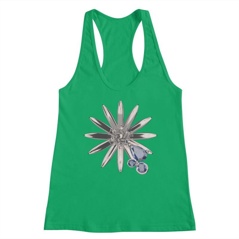 Enchanted Flower II Women's Tank by Genius Design Lab's Artist Shop