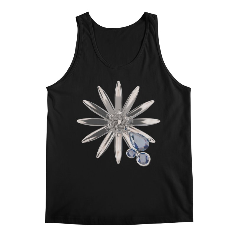 Enchanted Flower II Men's Tank by Genius Design Lab's Artist Shop