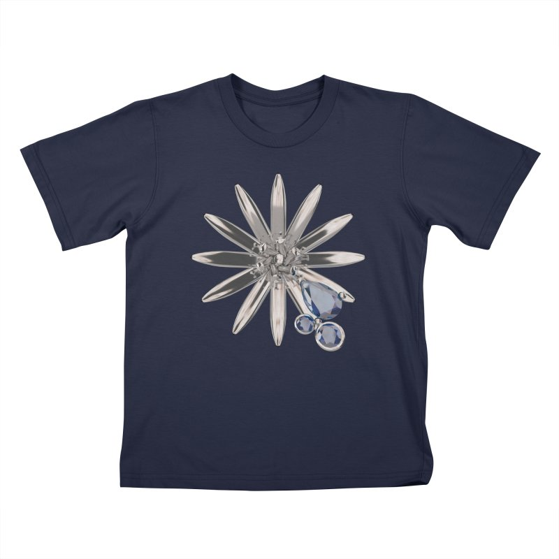 Enchanted Flower II Kids T-Shirt by Genius Design Lab's Artist Shop