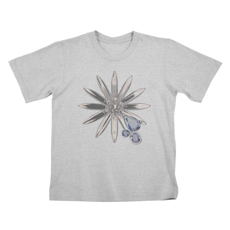 Enchanted Flower II Kids T-Shirt by Genius Design Lab's Artist Shop