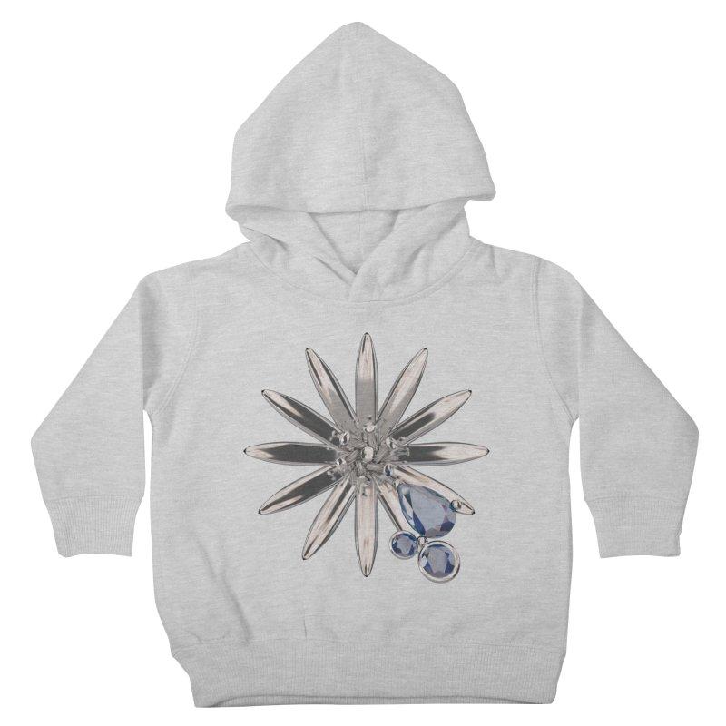 Enchanted Flower II Kids Toddler Pullover Hoody by Genius Design Lab's Artist Shop
