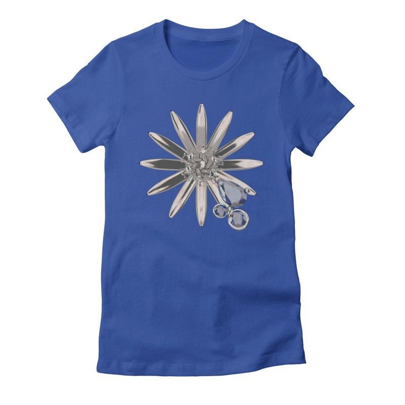 Enchanted Flower II Women's T-Shirt by Genius Design Lab's Artist Shop