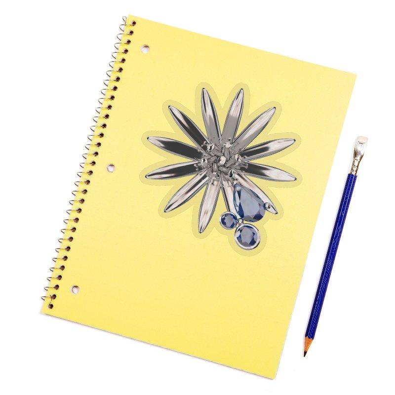 Enchanted Flower II Accessories Sticker by Genius Design Lab's Artist Shop