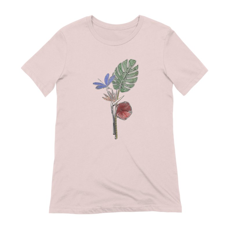 Enchanted Tropicália Women's Extra Soft T-Shirt by Genius Design Lab's Artist Shop