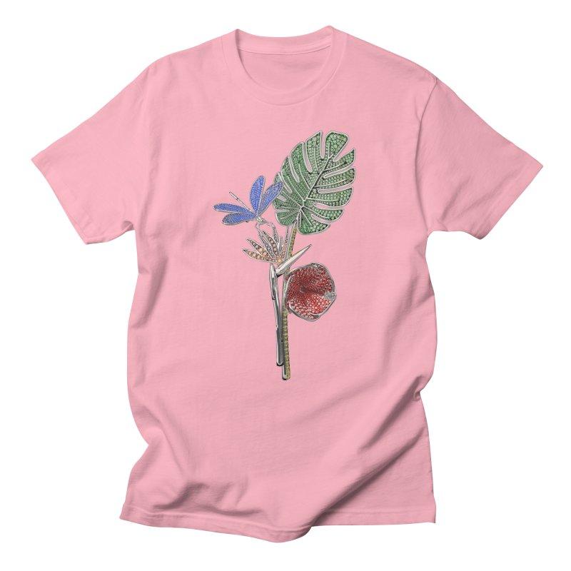 Enchanted Tropicália Men's T-Shirt by Genius Design Lab's Artist Shop