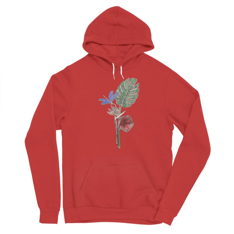Enchanted Tropicália Men's Pullover Hoody by Genius Design Lab's Artist Shop