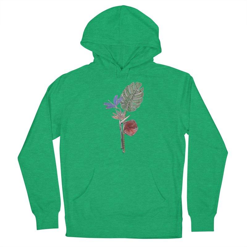 Enchanted Tropicália Men's Pullover Hoody by Genius Design Lab's Artist Shop