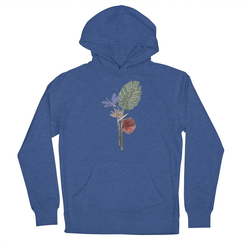 Enchanted Tropicália Women's Pullover Hoody by Genius Design Lab's Artist Shop