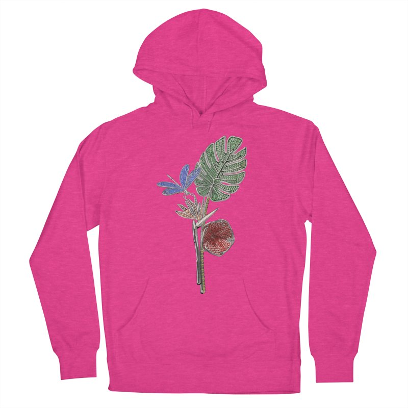 Enchanted Tropicália Women's French Terry Pullover Hoody by Genius Design Lab's Artist Shop