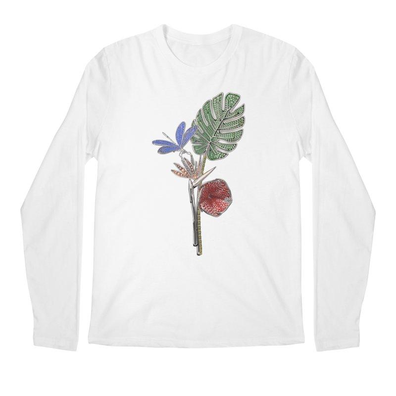 Enchanted Tropicália Men's Longsleeve T-Shirt by Genius Design Lab's Artist Shop