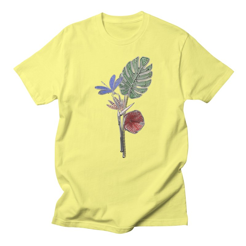 Enchanted Tropicália Women's T-Shirt by Genius Design Lab's Artist Shop