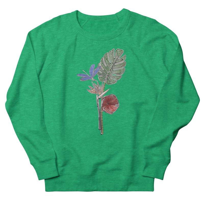 Enchanted Tropicália Women's Sweatshirt by Genius Design Lab's Artist Shop