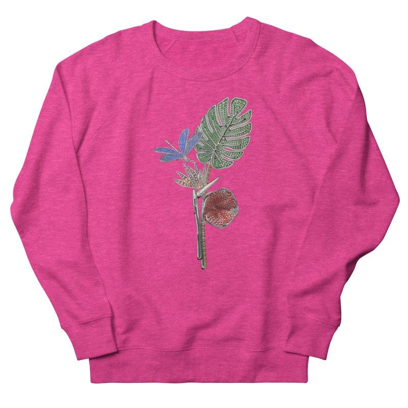 Enchanted Tropicália Women's French Terry Sweatshirt by Genius Design Lab's Artist Shop