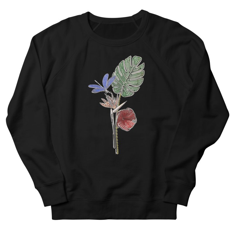 Enchanted Tropicália Women's French Terry Sweatshirt by Genius Design Lab's Artist Shop