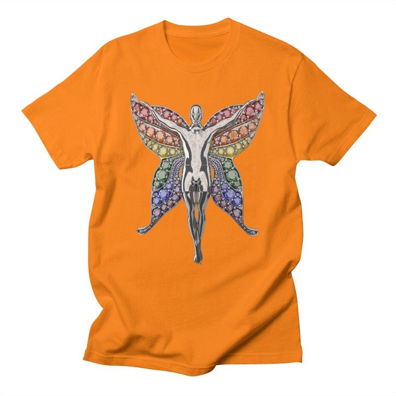 Enchanted Pride Fairy Men's T-Shirt by Genius Design Lab's Artist Shop
