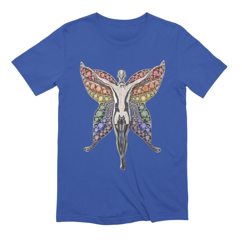 Enchanted Pride Fairy Men's Extra Soft T-Shirt by Genius Design Lab's Artist Shop