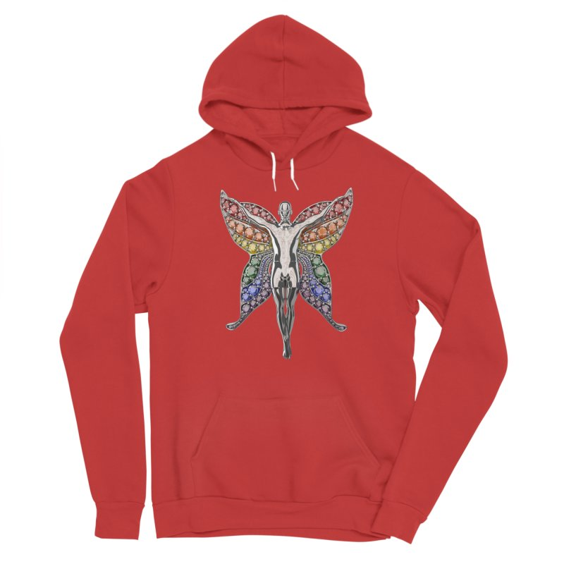 Enchanted Pride Fairy Women's Pullover Hoody by Genius Design Lab's Artist Shop