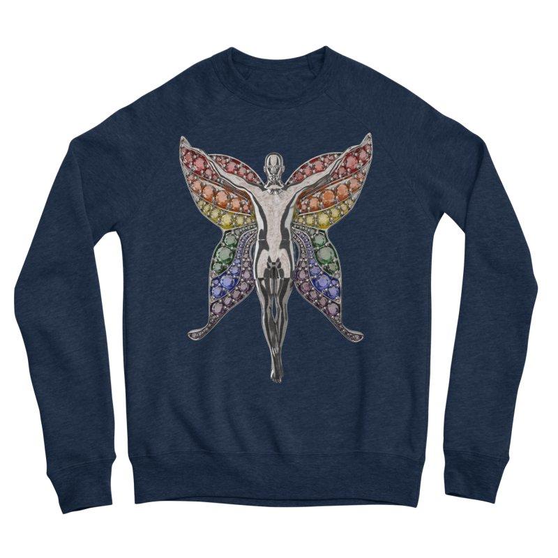 Enchanted Pride Fairy Men's Sweatshirt by Genius Design Lab's Artist Shop