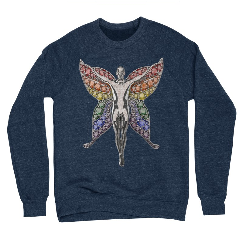 Enchanted Pride Fairy Women's Sponge Fleece Sweatshirt by Genius Design Lab's Artist Shop