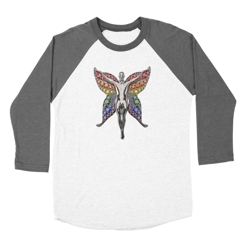 Enchanted Pride Fairy Women's Longsleeve T-Shirt by Genius Design Lab's Artist Shop