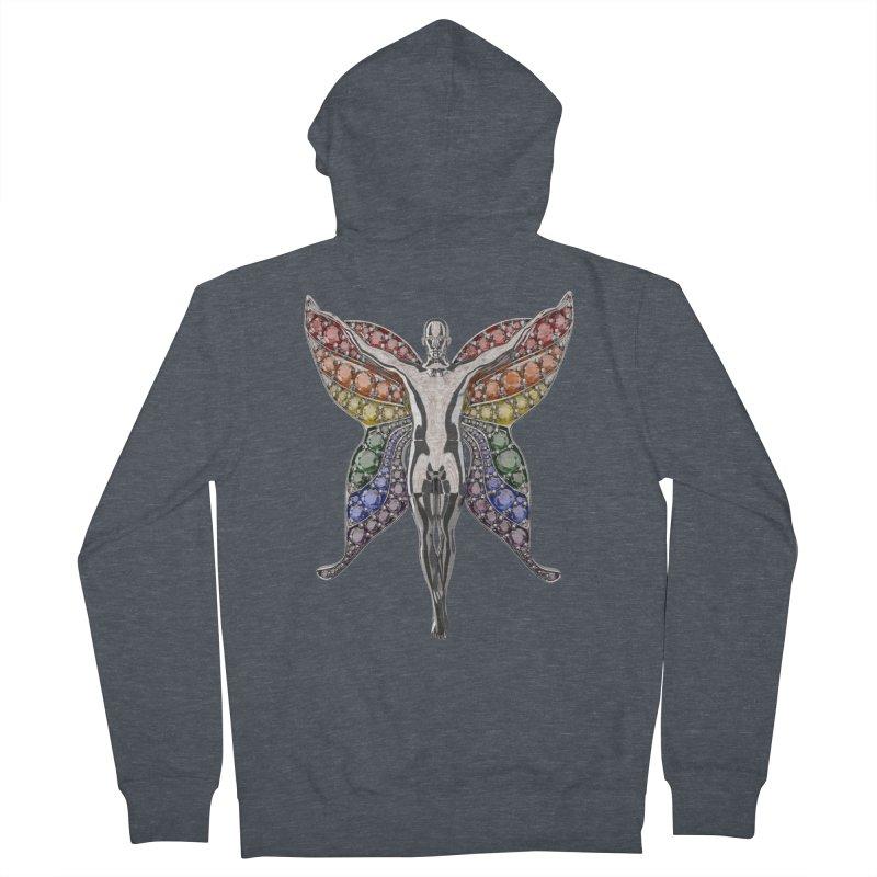 Enchanted Pride Fairy Women's Zip-Up Hoody by Genius Design Lab's Artist Shop