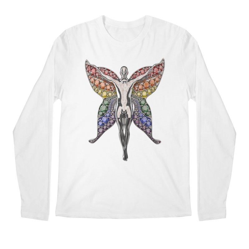 Enchanted Pride Fairy Men's Longsleeve T-Shirt by Genius Design Lab's Artist Shop