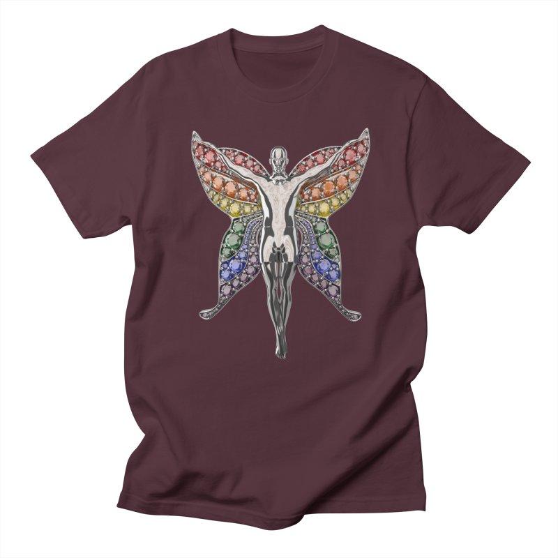 Enchanted Pride Fairy Women's Regular Unisex T-Shirt by Genius Design Lab's Artist Shop