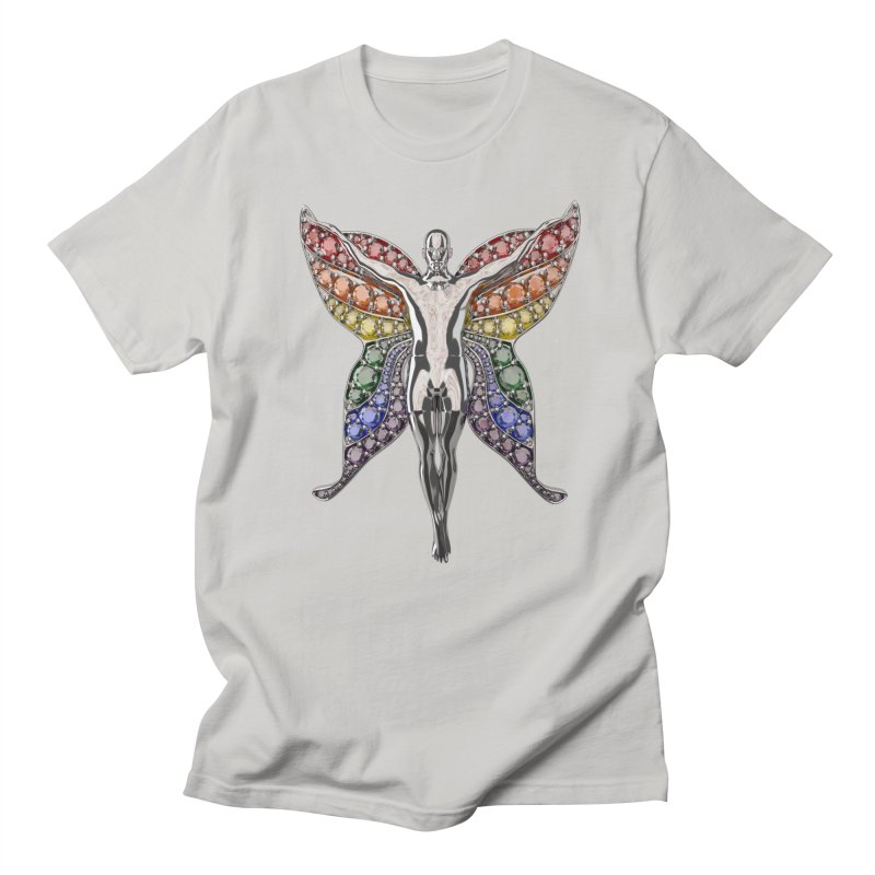 Enchanted Pride Fairy Men's T-Shirt by Genius Design Lab's Artist Shop