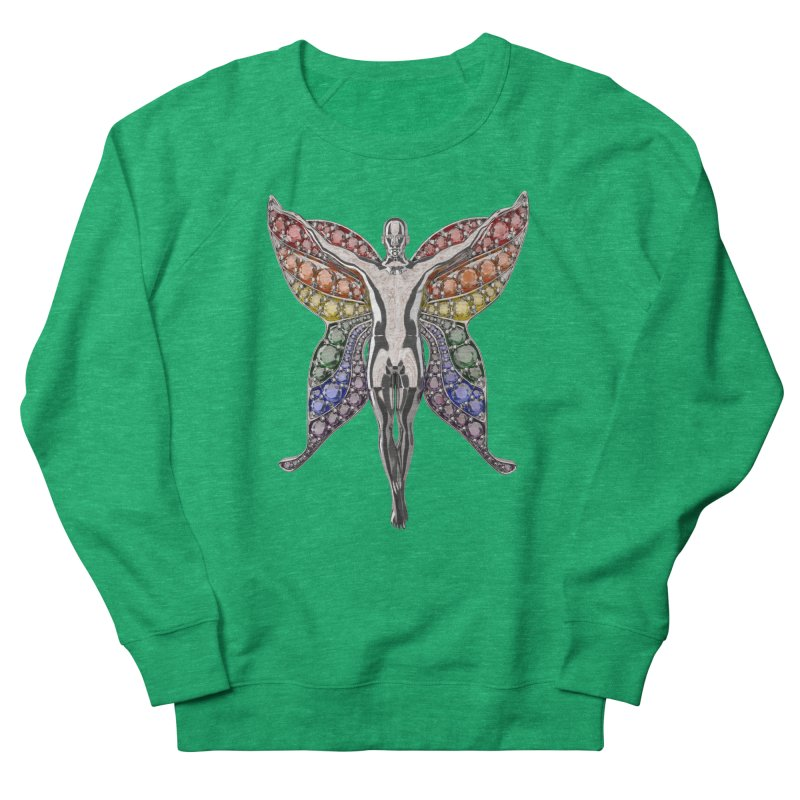 Enchanted Pride Fairy Women's Sweatshirt by Genius Design Lab's Artist Shop