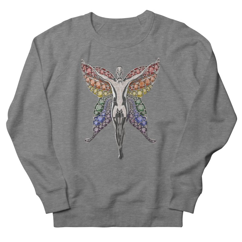 Enchanted Pride Fairy Women's French Terry Sweatshirt by Genius Design Lab's Artist Shop