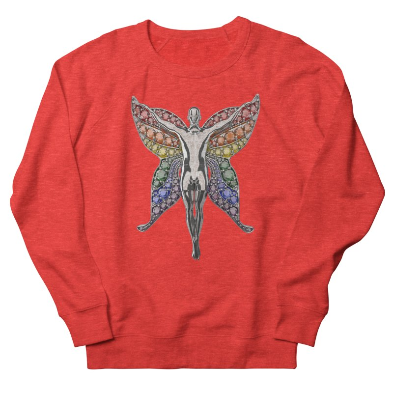 Enchanted Pride Fairy Women's Sweatshirt by Genius Design Lab's Artist Shop
