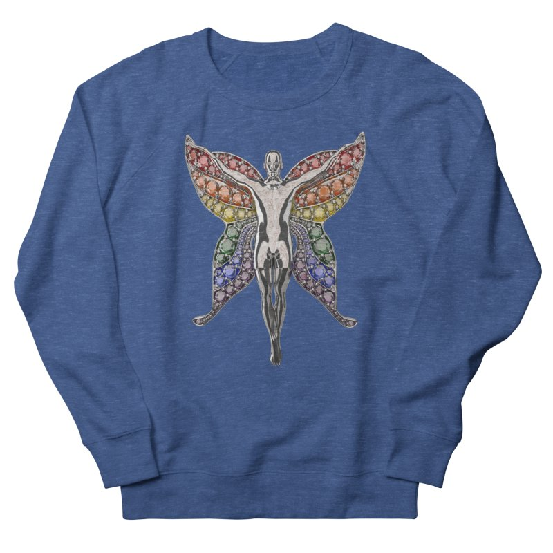 Enchanted Pride Fairy Men's Sweatshirt by Genius Design Lab's Artist Shop