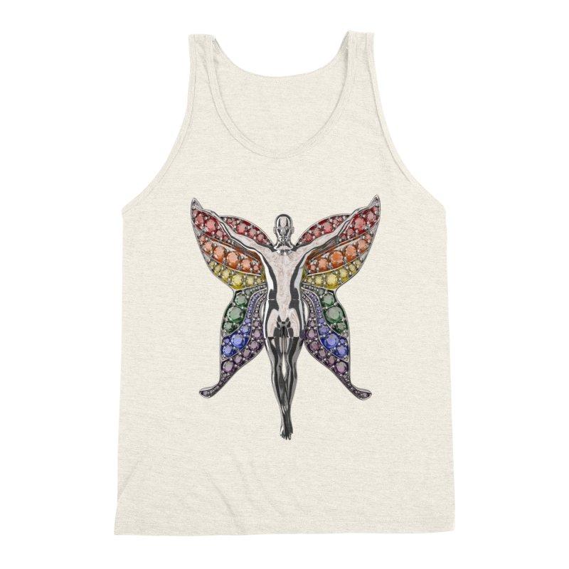Enchanted Pride Fairy Men's Tank by Genius Design Lab's Artist Shop