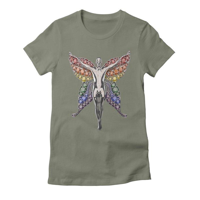 Enchanted Pride Fairy Women's T-Shirt by Genius Design Lab's Artist Shop