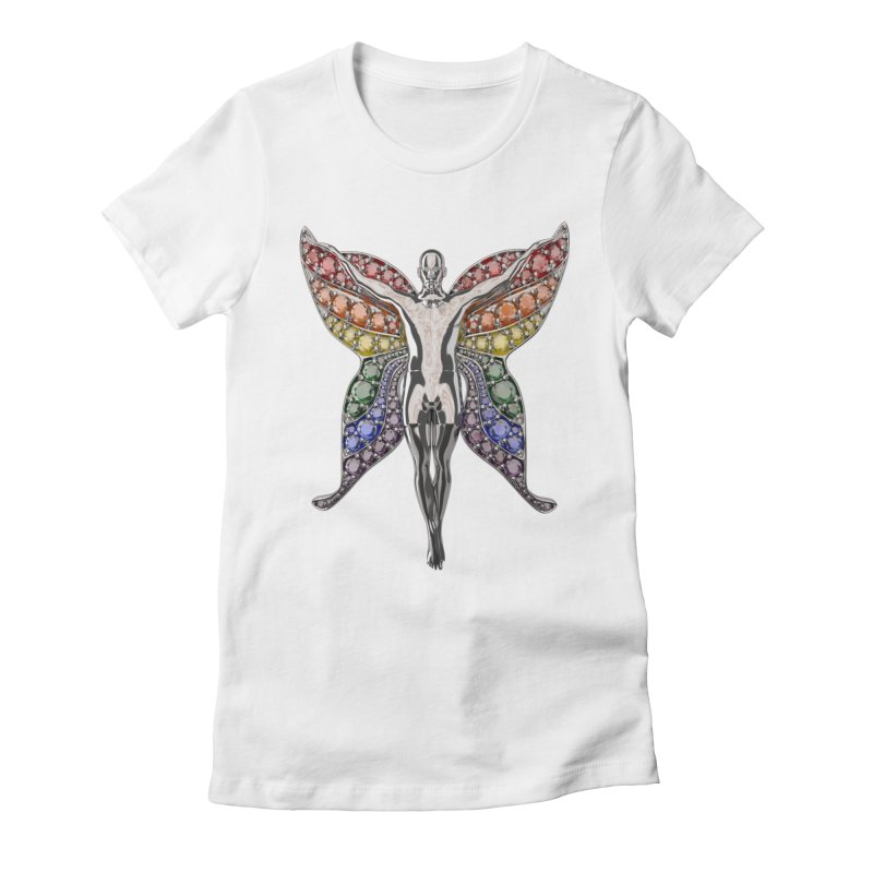 Enchanted Pride Fairy Women's T-Shirt by Genius Design Lab's Artist Shop
