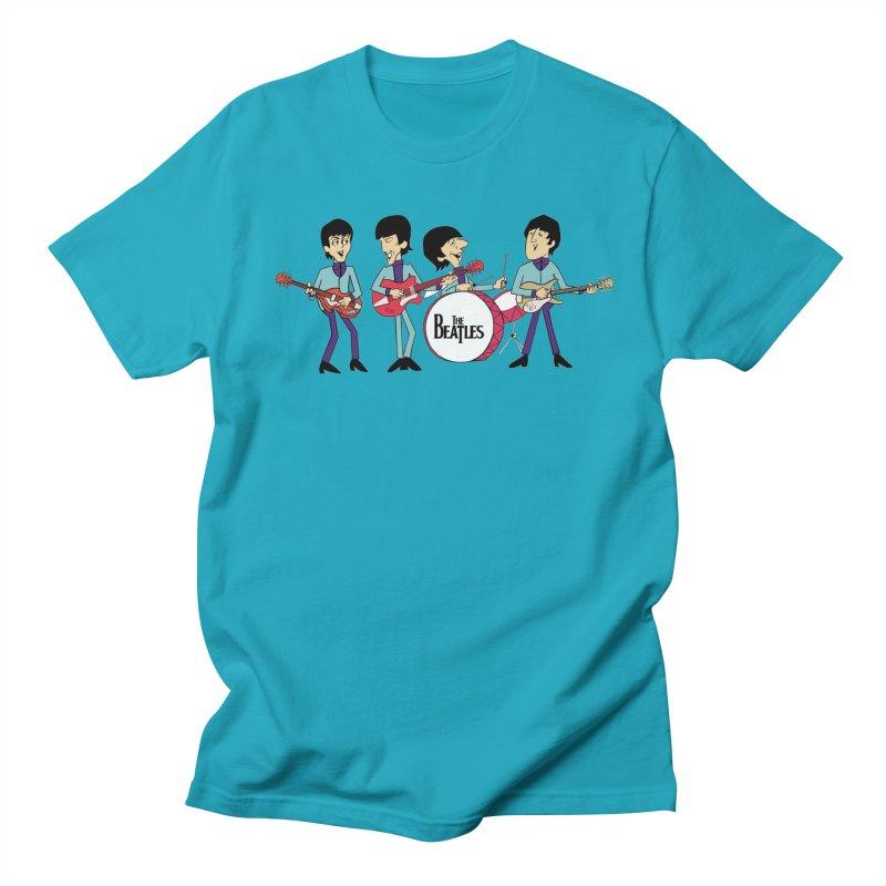 the Beatles Men's Regular T-Shirt by Geocaching Podcast Shop
