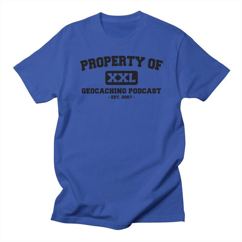 Property Of Shirt Men's Regular T-Shirt by Geocaching Podcast Shop