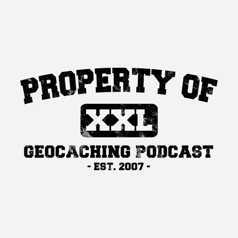 Property Of Shirt (Distressed) Men's T-Shirt by Geocaching Podcast Shop