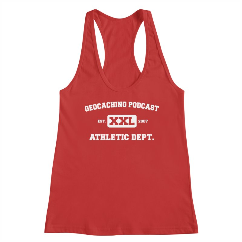 Athletic Department Women's Tank by Geocaching Podcast Store
