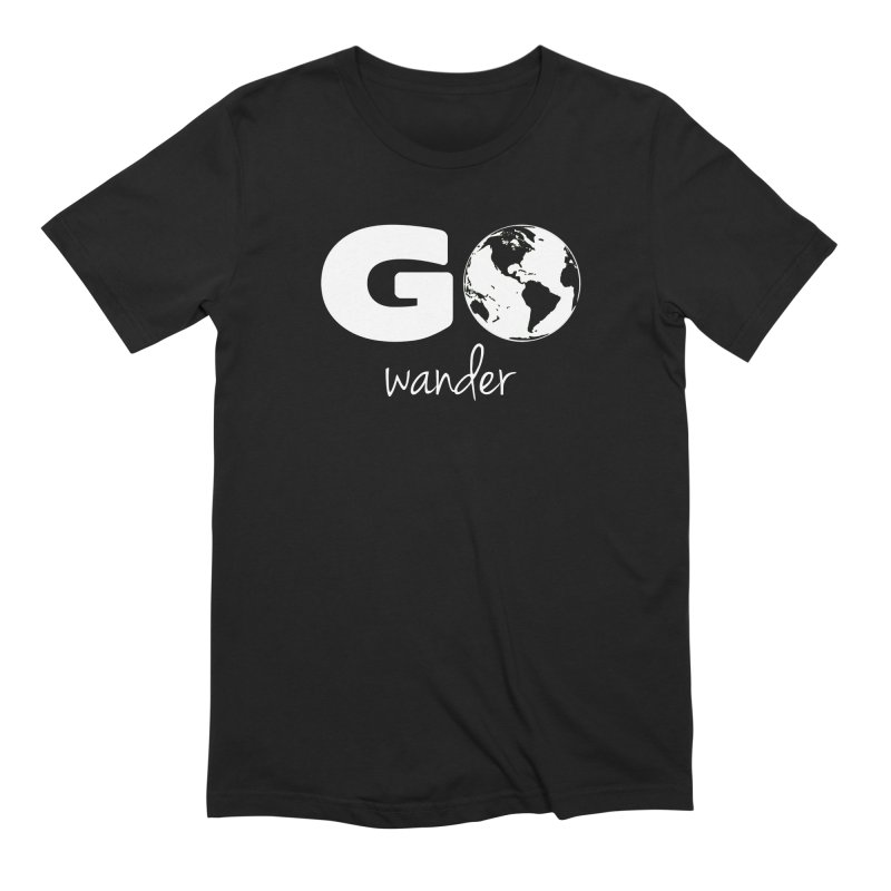 Go Wander Men's Extra Soft T-Shirt by Geocaching Podcast Store