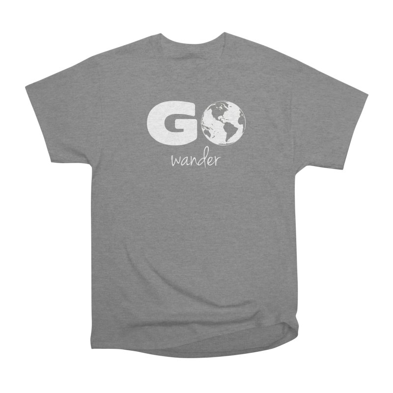 Go Wander Men's T-Shirt by Geocaching Podcast Store