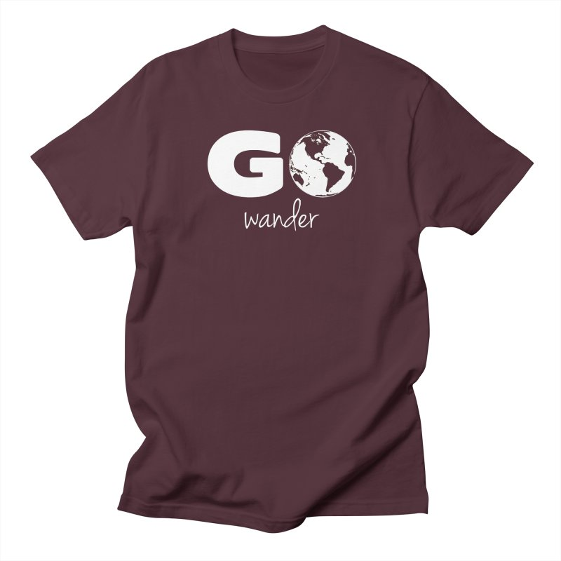 Go Wander Men's Regular T-Shirt by Geocaching Podcast Store