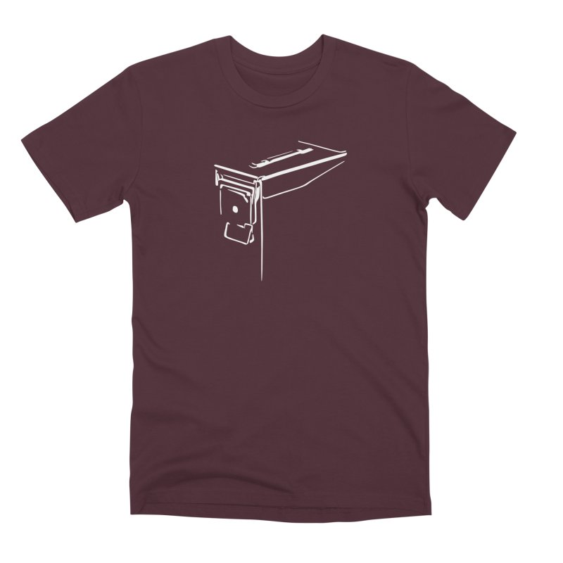 Ammo Can Silo Men's Premium T-Shirt by Geocaching Podcast Store