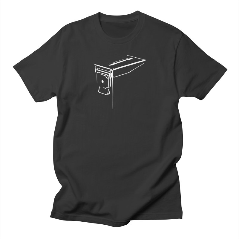 Ammo Can Silo Men's Regular T-Shirt by Geocaching Podcast Store