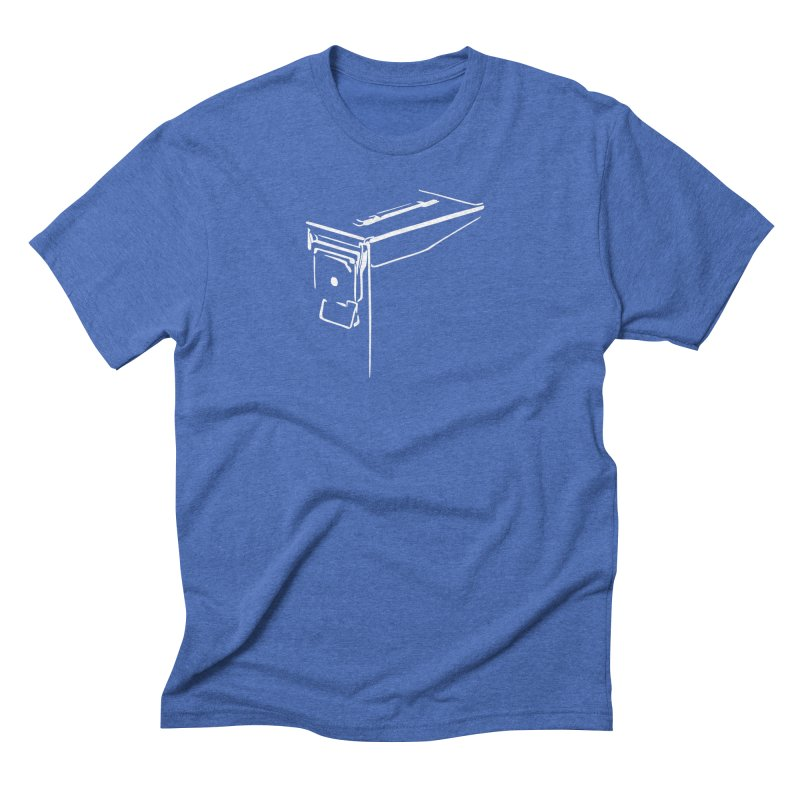 Ammo Can Silo Men's T-Shirt by Geocaching Podcast Store