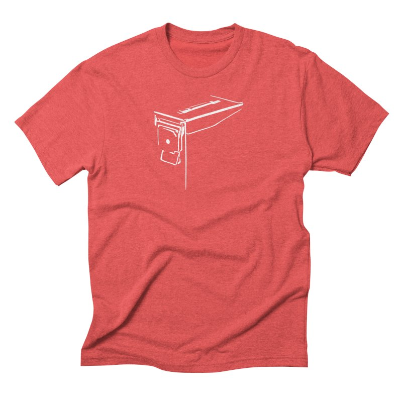 Ammo Can Silo Men's Triblend T-Shirt by Geocaching Podcast Store